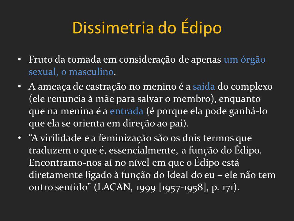 Substituição significante Dupla substituição: da mãe pelo carretel e do jogo pelas presenças e ausências da mãe.