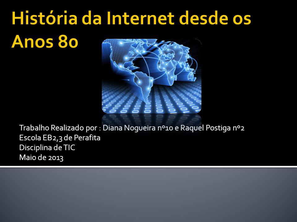 Trabalho Realizado por : Diana Nogueira nº10 e Raquel Postiga nº2 Escola EB2,3 de Perafita Disciplina de TIC Maio de 2013