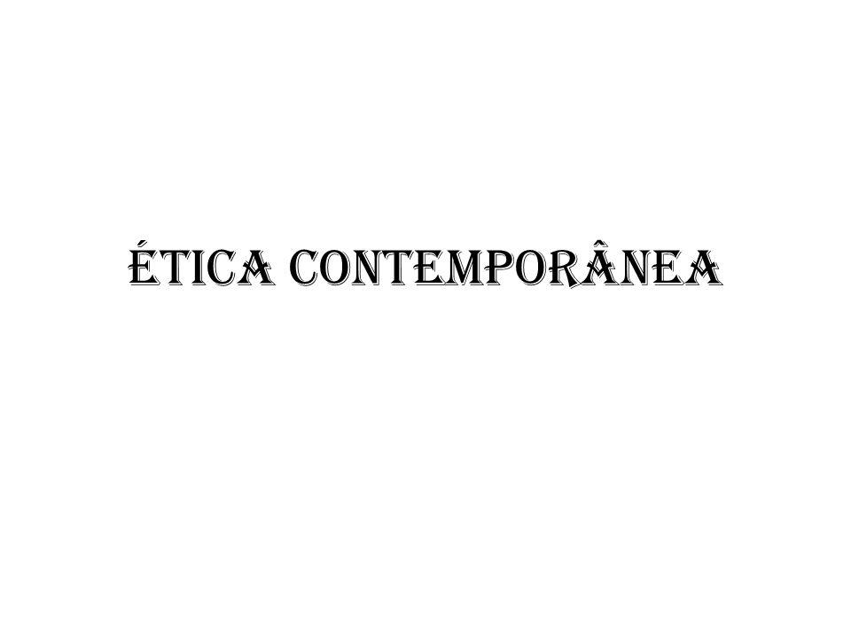Ética contemporânea