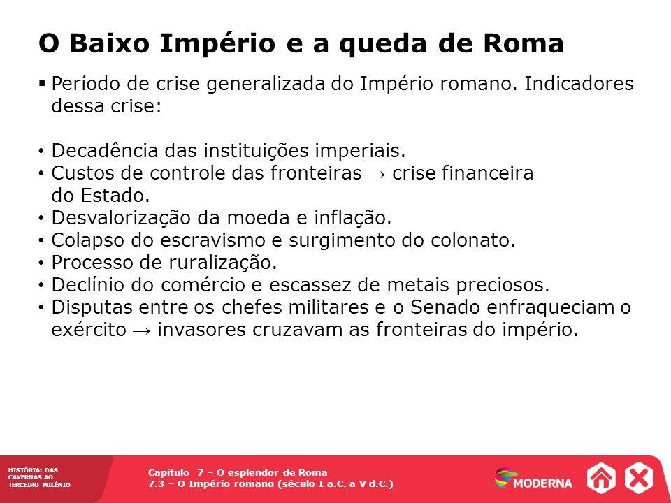 Capítulo 7 – O esplendor de Roma 7.3 – O Império romano (século I a.C.