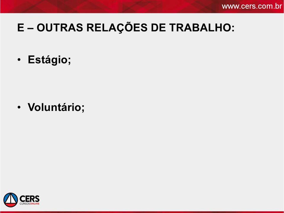 TERMINAÇÃO DO CT: Art.482 CLT – HIPÓTESES DE FALTAS GRAVES COMETIDAS PELO EMPREGADO Art.