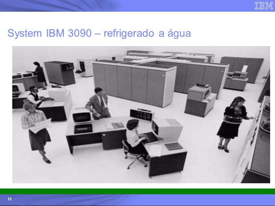 © 2006 IBM Corporation IBM Systems & Technology Group 12 System IBM 3090 – refrigerado a água