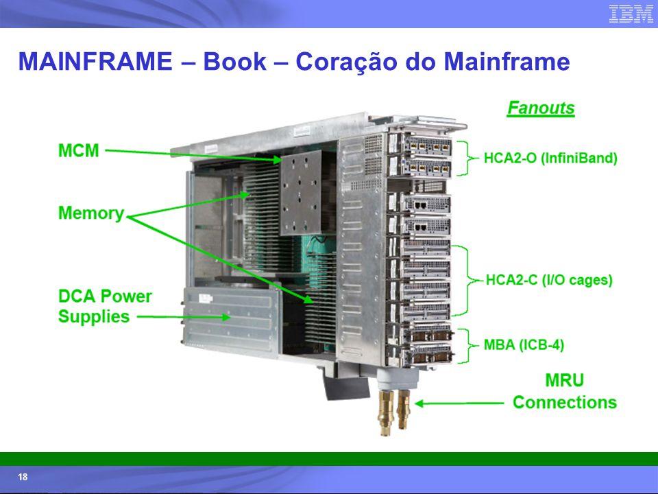 © 2006 IBM Corporation IBM Systems & Technology Group 18 MAINFRAME – Book – Coração do Mainframe