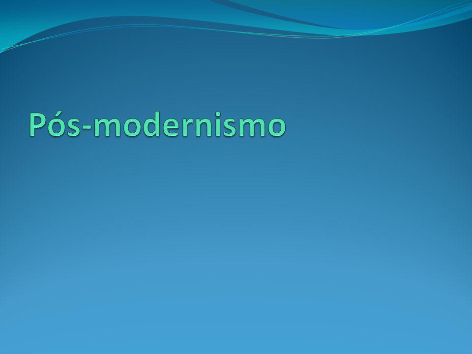 Pós-modernismo e a Urbanização: Pós-modernismo Urbanização Globalização Pós-modernização Se o pós-modernismo fosse um artista, sua tela seria a cidade.