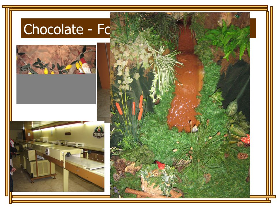 Chocolate - Fonte: