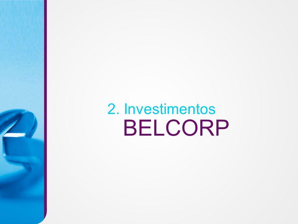 BELCORP 2. Investimentos