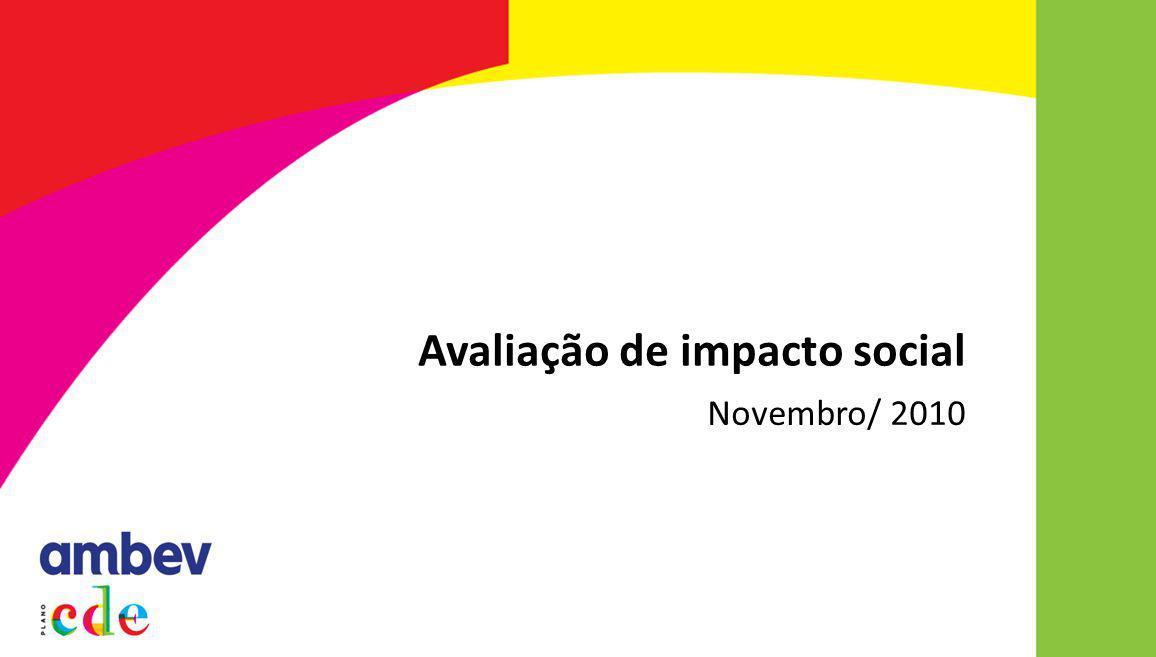 Novembro/ 2010 Avaliação de impacto social