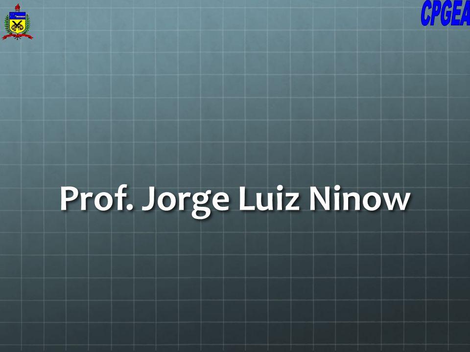 Prof. Jorge Luiz Ninow