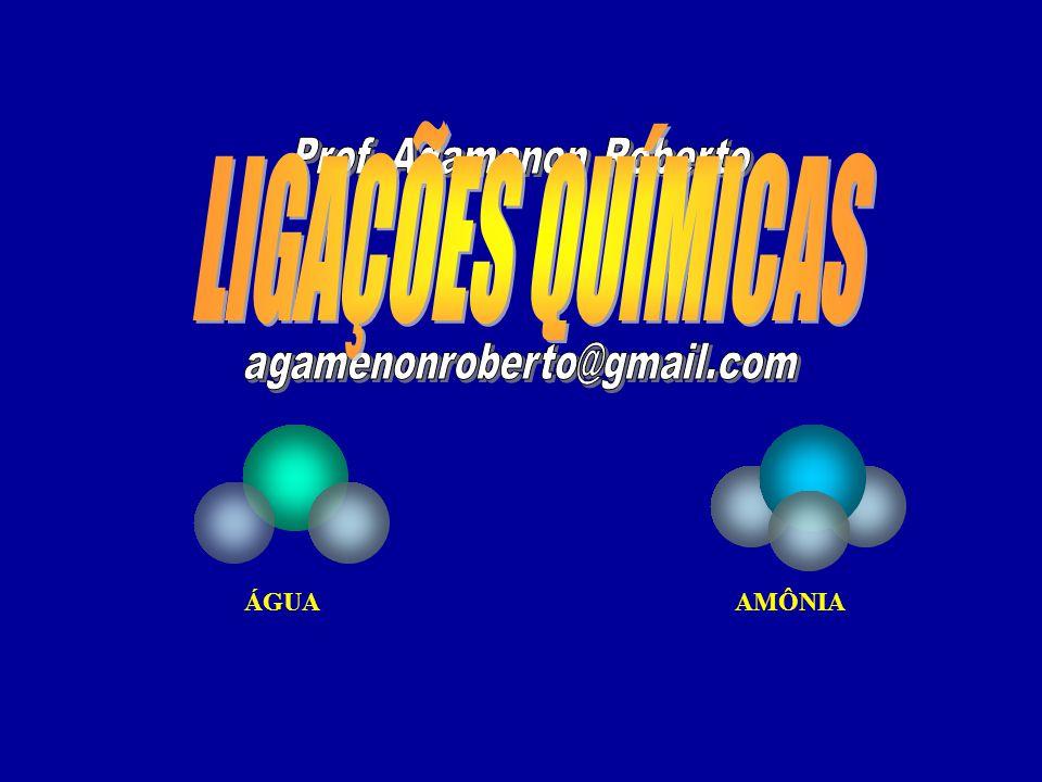 B F F F N ClCl ClCl ClCl Estas moléculas podem ser TRIGONAL PLANA ou PIRAMIDAL Se o átomo central A não possui par de elétrons disponíveis a geometria da molécula será TRIGONAL PLANA Se o átomo central A possui par de elétrons disponíveis a geometria da molécula será PIRAMIDAL