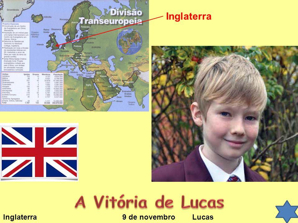 Inglaterra 9 de novembro Lucas Inglaterra