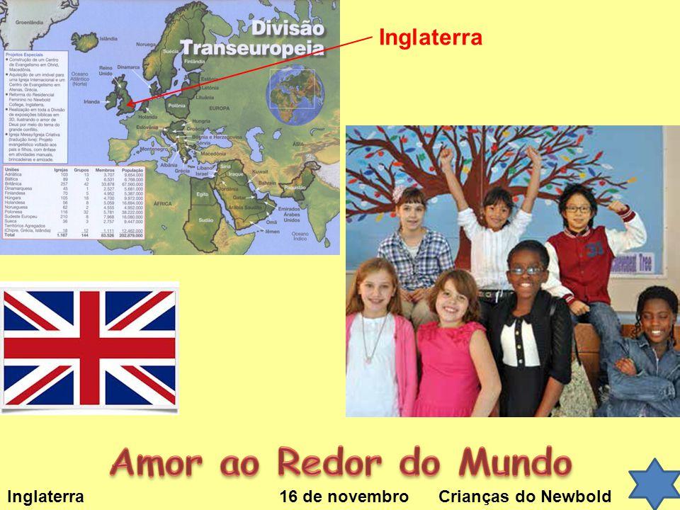 Inglaterra 16 de novembro Crianças do Newbold Inglaterra
