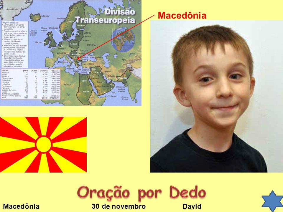 Macedônia 30 de novembro David Macedônia