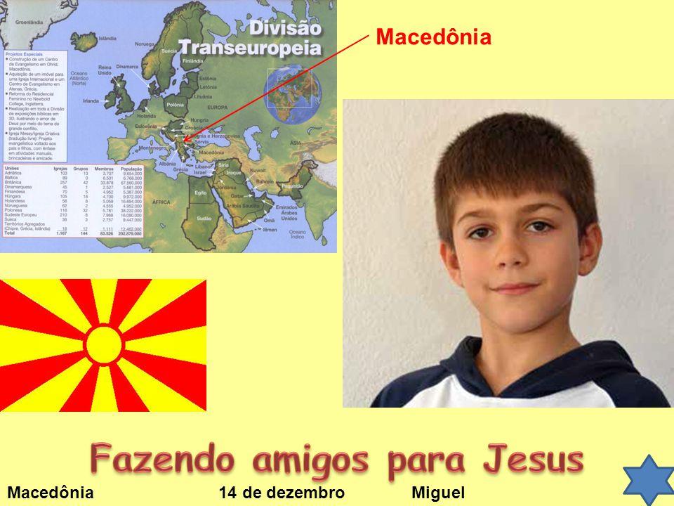 Macedônia 14 de dezembroMiguel Macedônia
