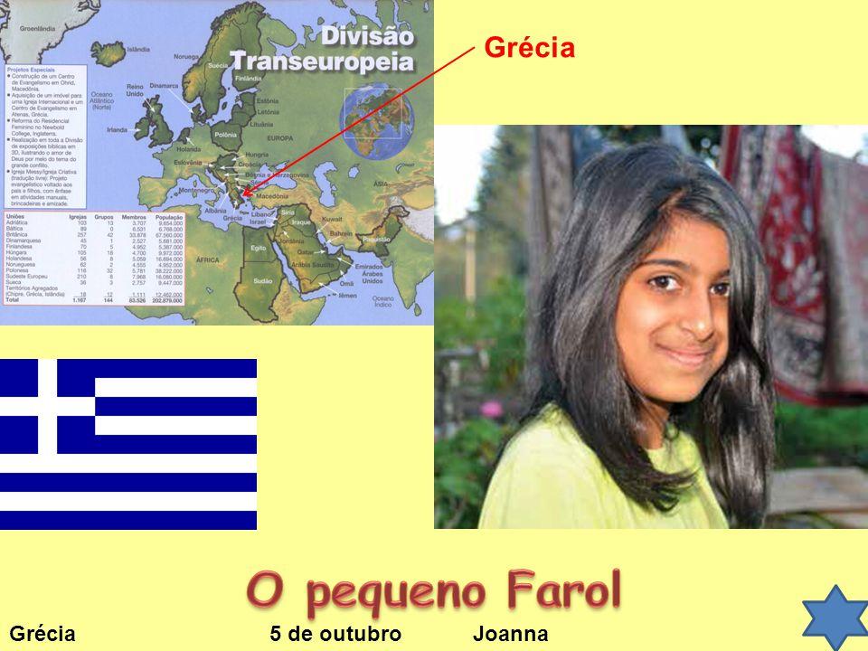 Grécia 5 de outubro Joanna Grécia
