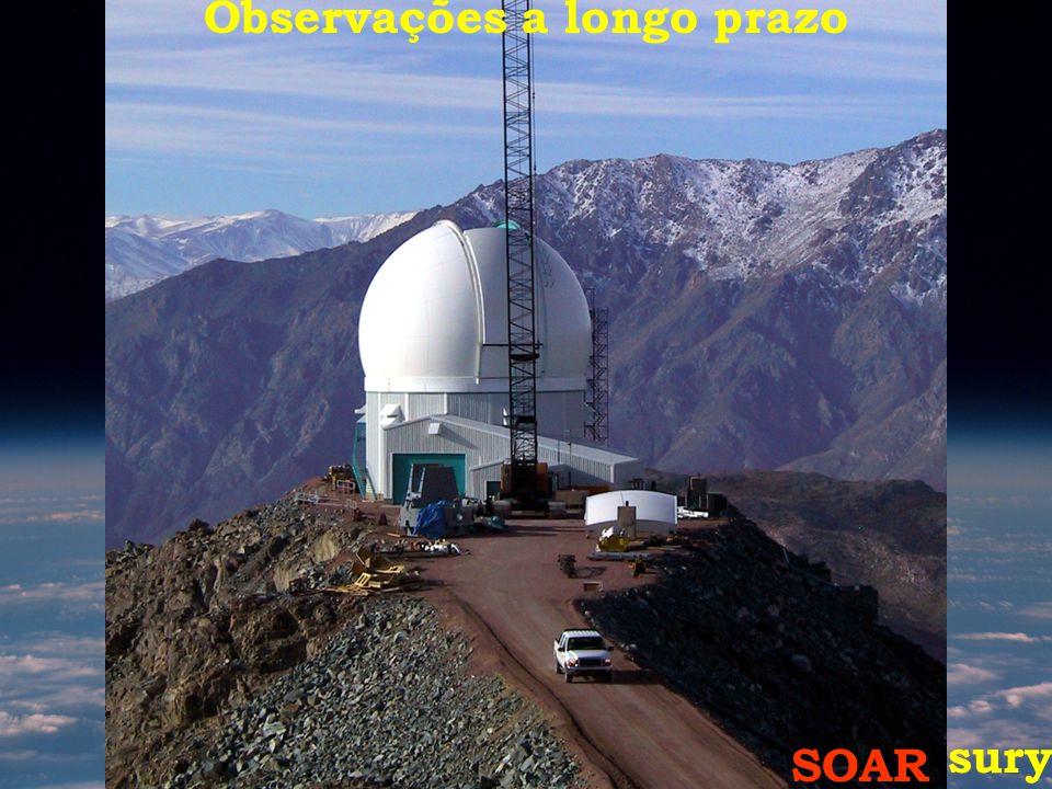Gemini Sul HST- Treasury SOAR Observações a longo prazo