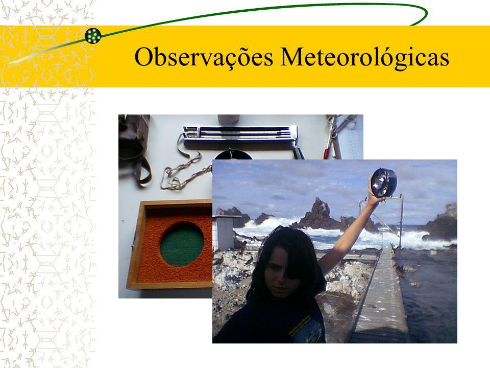 Observações Meteorológicas
