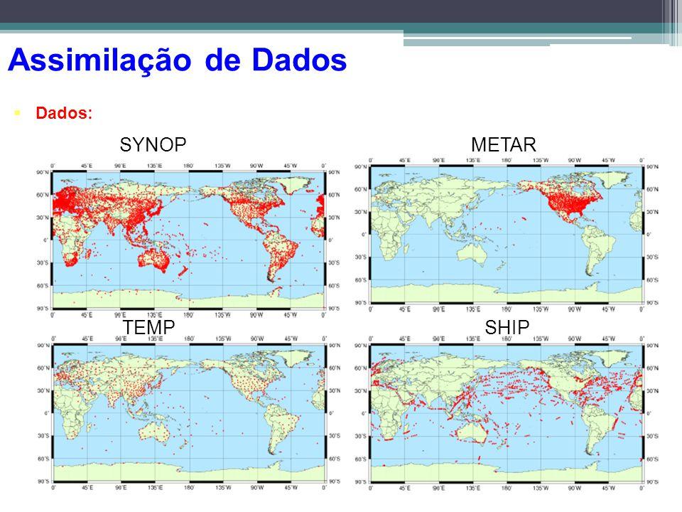 Dados: METARSYNOP TEMPSHIP