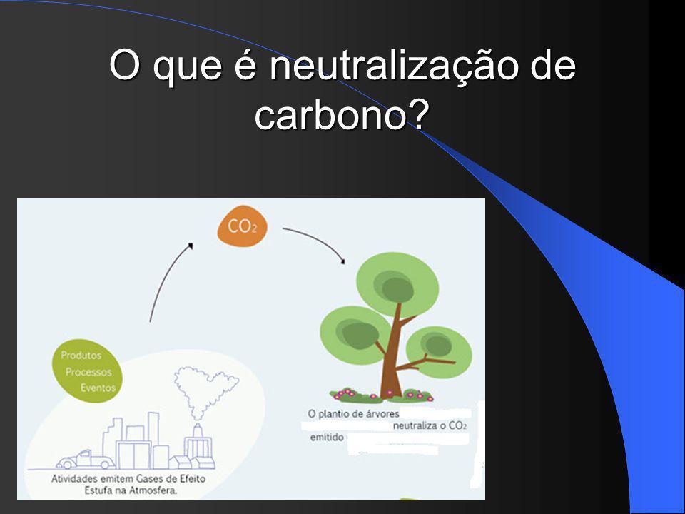 Mas como realizar essa diminuição ou pelo menos equilibra-la? A neutralização do carbono pode ajudar!