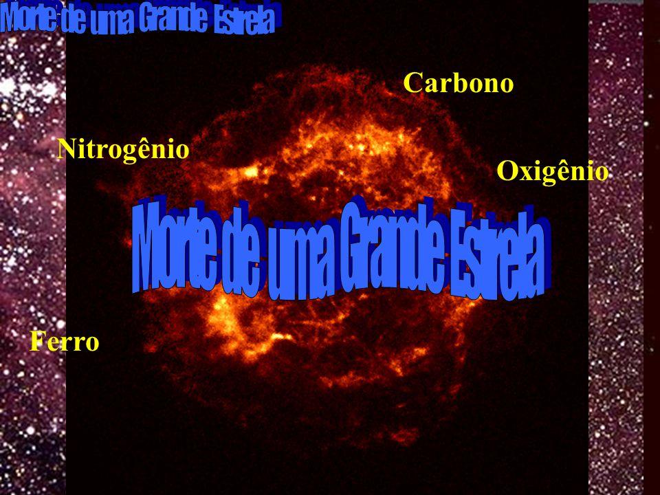Carbono Oxigênio Ferro Nitrogênio