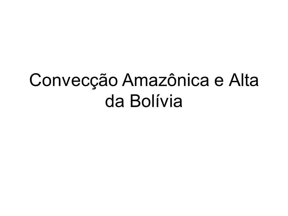 Convecção Amazônica e Alta da Bolívia