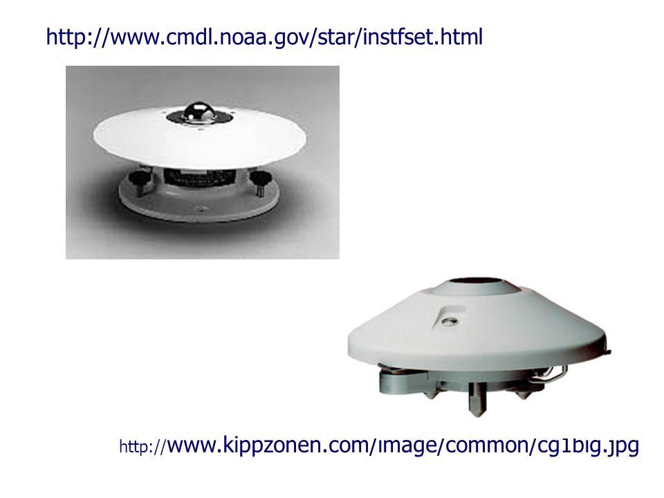 http:// www.kippzonen.com/image/common/cg1big.jpg http://www.cmdl.noaa.gov/star/instfset.html