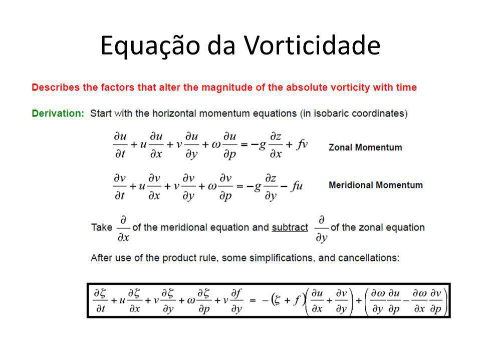 Equação da Vorticidade