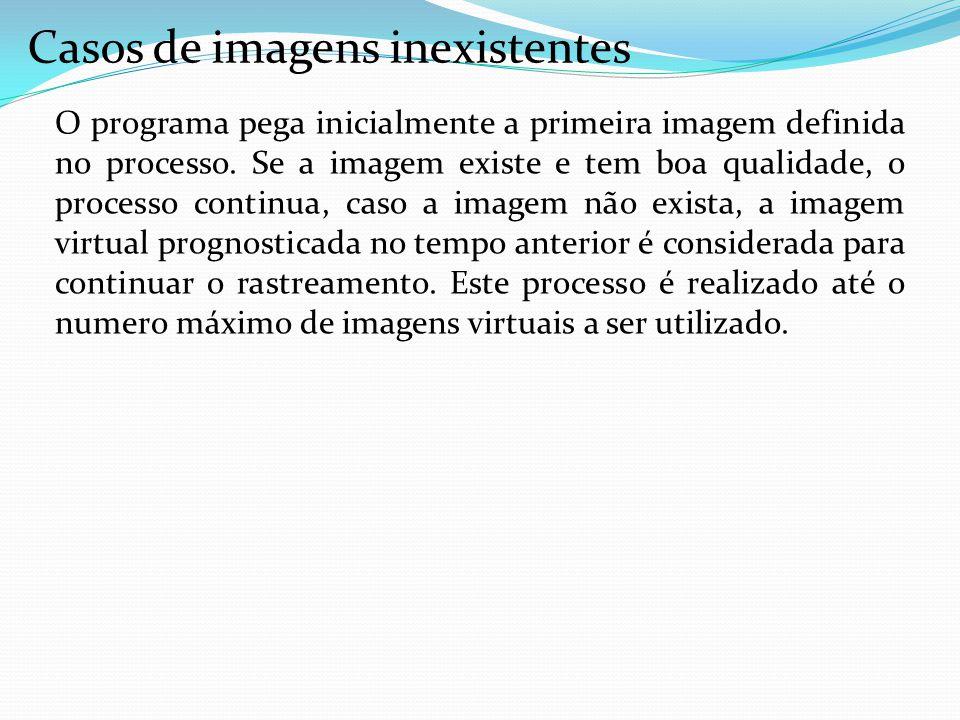 O programa pega inicialmente a primeira imagem definida no processo. Se a imagem existe e tem boa qualidade, o processo continua, caso a imagem não ex