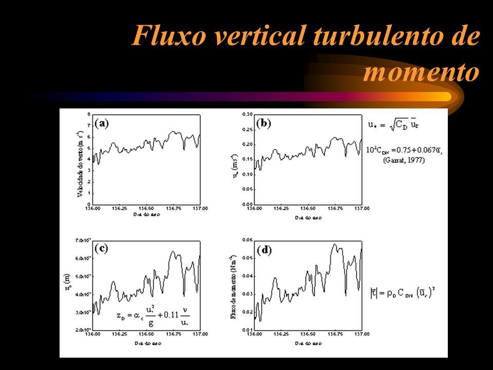 Fluxo vertical turbulento de momento