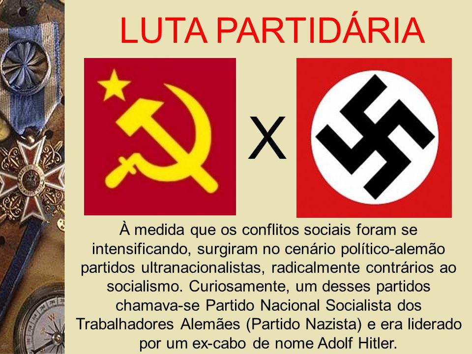 À medida que os conflitos sociais foram se intensificando, surgiram no cenário político-alemão partidos ultranacionalistas, radicalmente contrários ao socialismo.