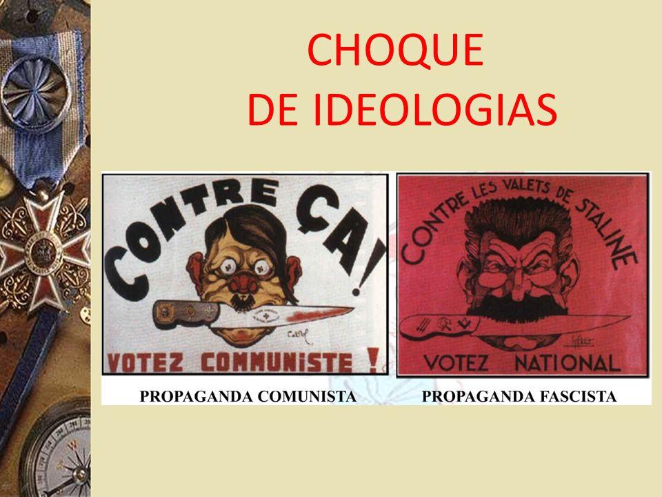 CHOQUE DE IDEOLOGIAS