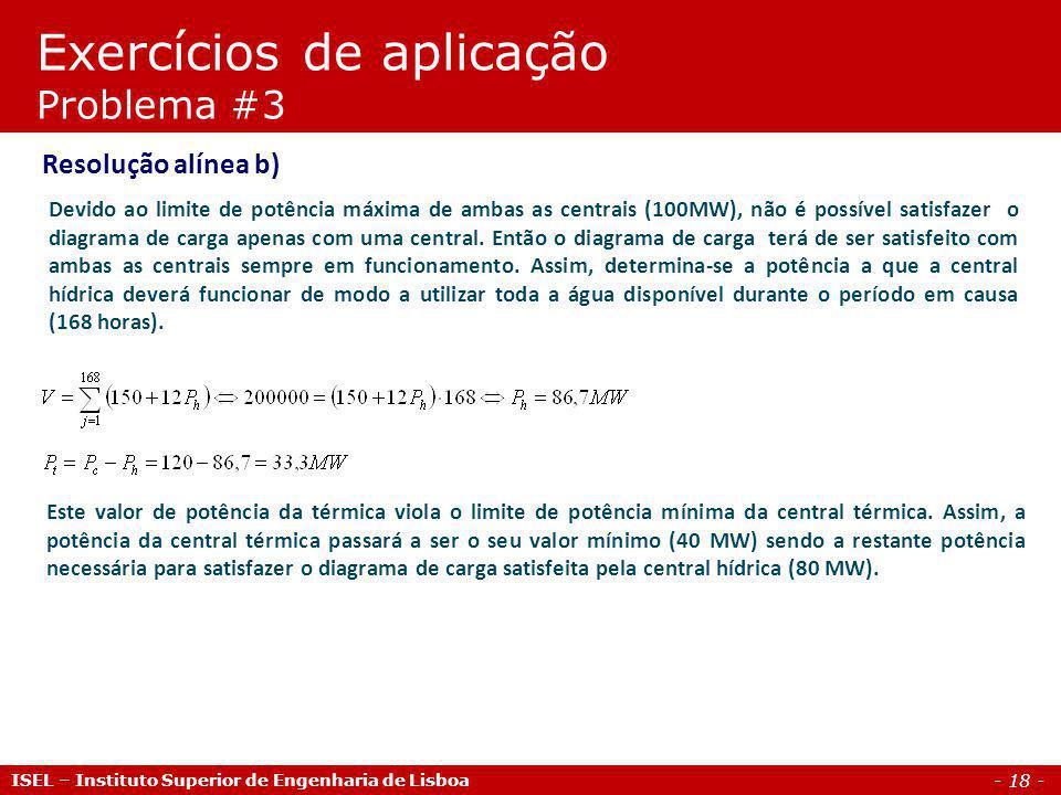 - 19 - Coordenação hidro-térmica Jorge Alberto Mendes de Sousa Professor Coordenador Webpage: pwp.net.ipl.pt/deea.isel/jsousa MEN - Mercados de Energia Mestrado em Engenharia Electrotécnica ISEL – Instituto Superior de Engenharia de Lisboa