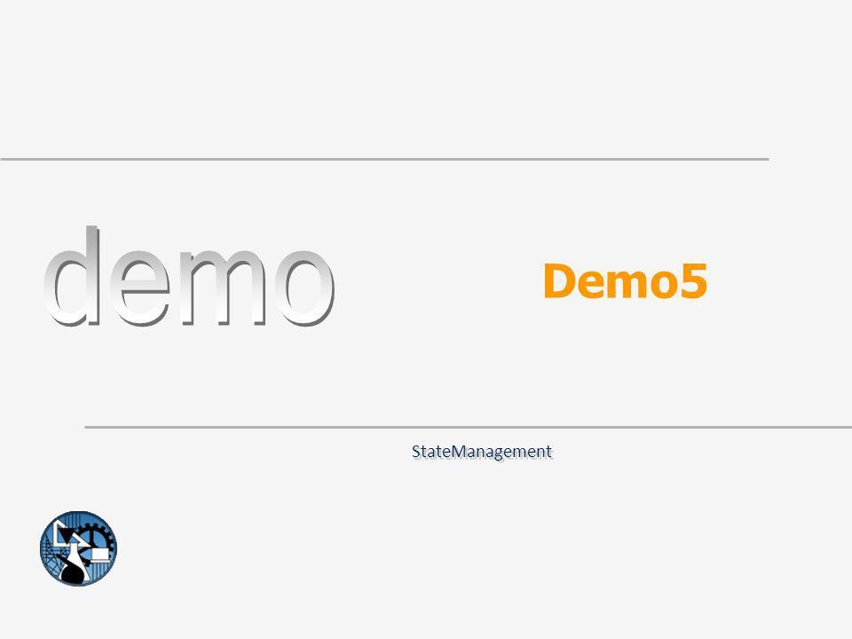 Demo5 StateManagement