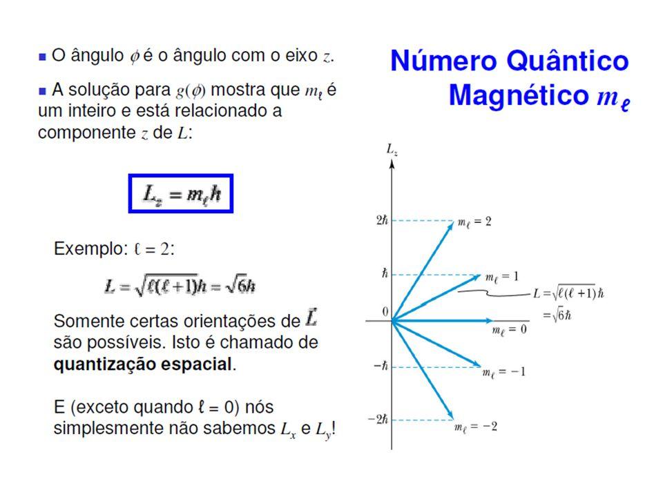 7.4: Efeitos do campo magnético nos espectros atômicos Efeito Zeeman = x B = dL/dt