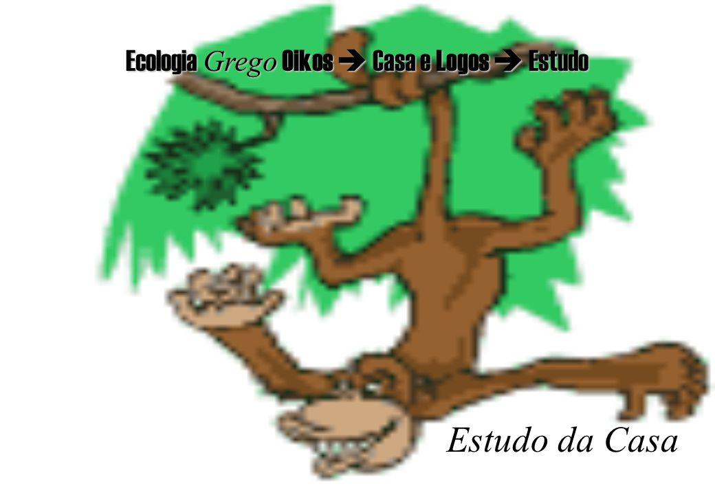Ecologia Grego Grego Oikos Oikos Casa e Logos Logos Estudo Estudo da Casa