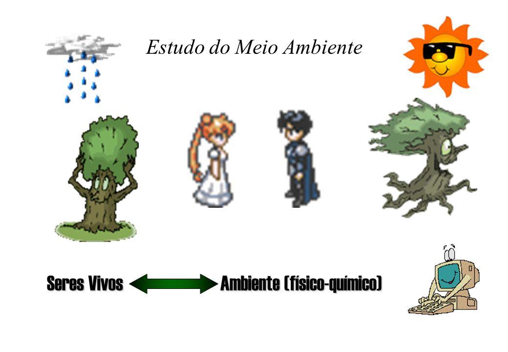 Estudo do Meio Ambiente Seres Vivos Ambiente (físico-químico)