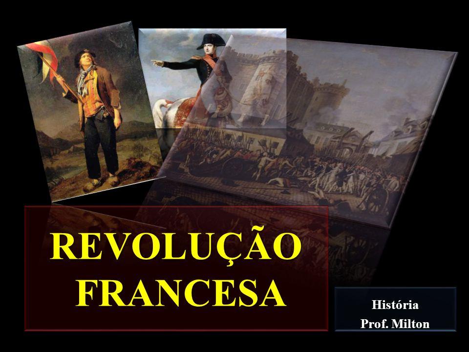 História Prof. Milton REVOLUÇÃO FRANCESA