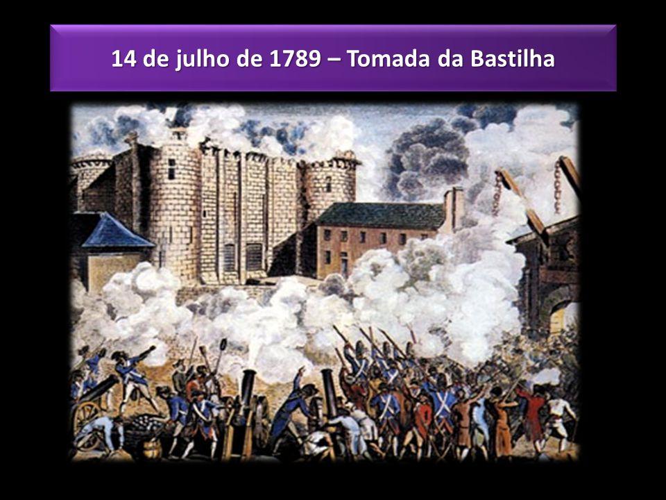 14 de julho de 1789 – Tomada da Bastilha