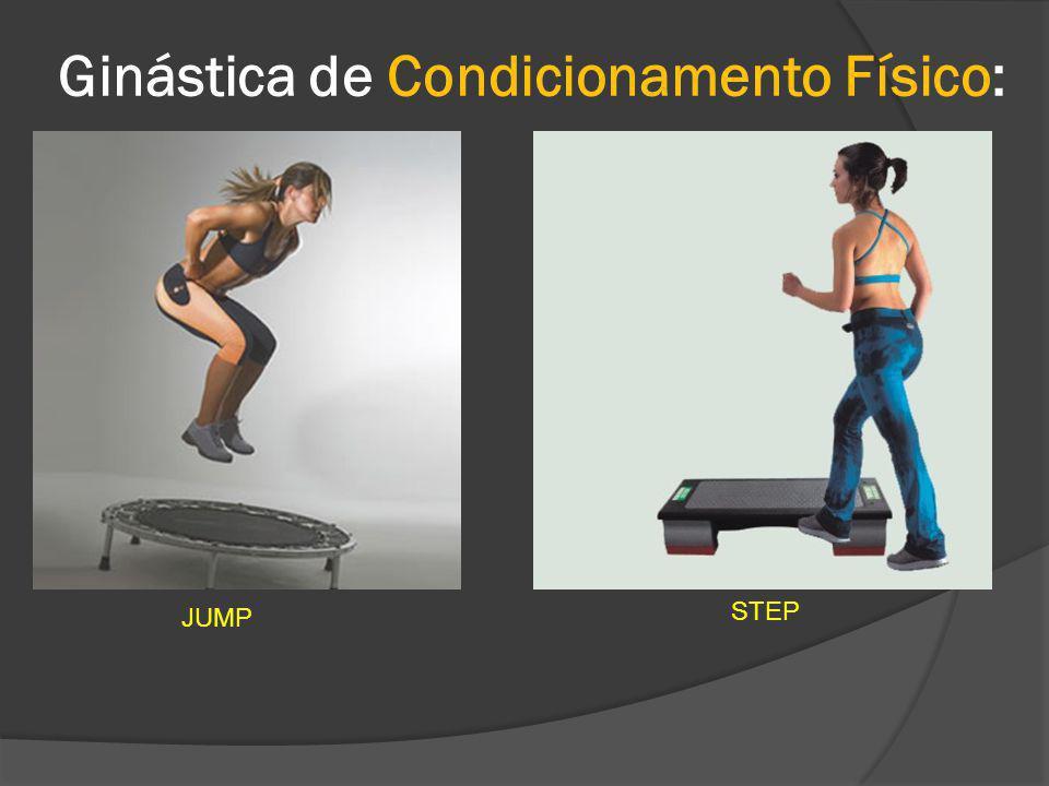 Ginástica de Condicionamento Físico: JUMP STEP