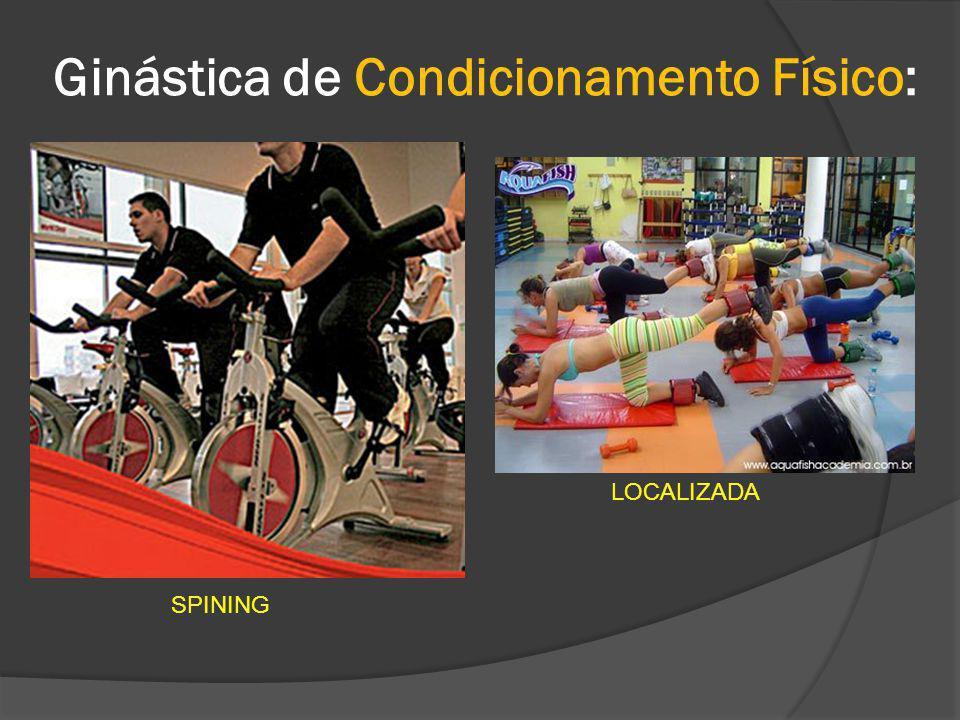 Ginástica de Condicionamento Físico: CAMINHADA E CORRIDA CICLISMO