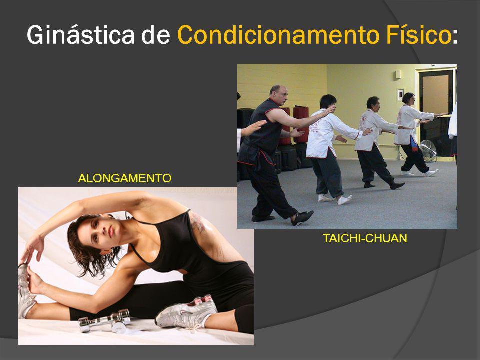 Ginástica de Condicionamento Físico: ALONGAMENTO TAICHI-CHUAN