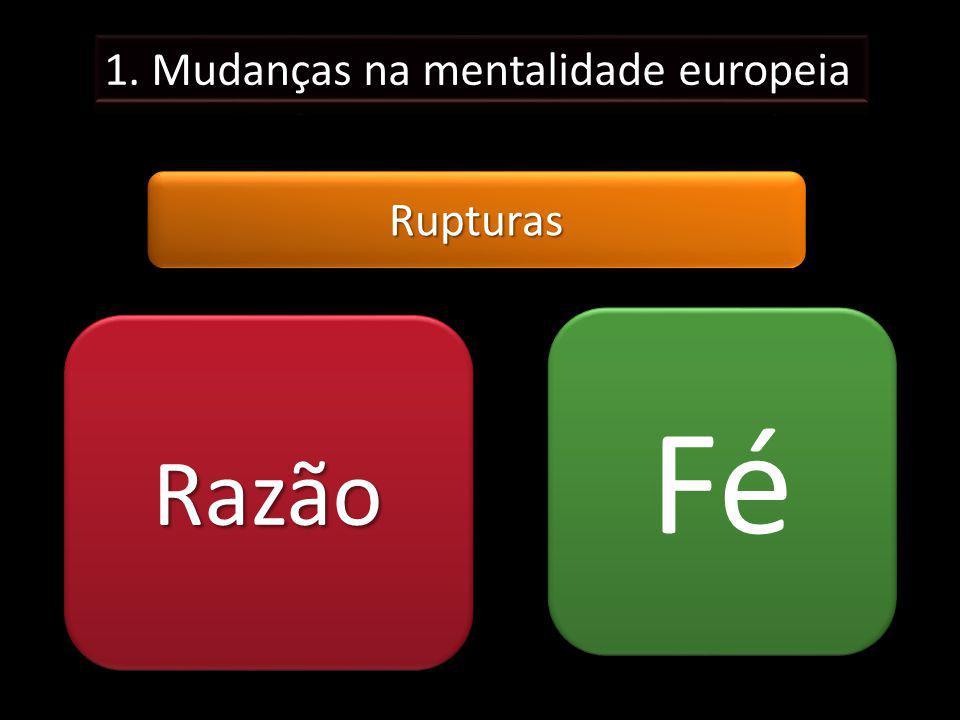 RupturasRupturas RazãoRazão Fé