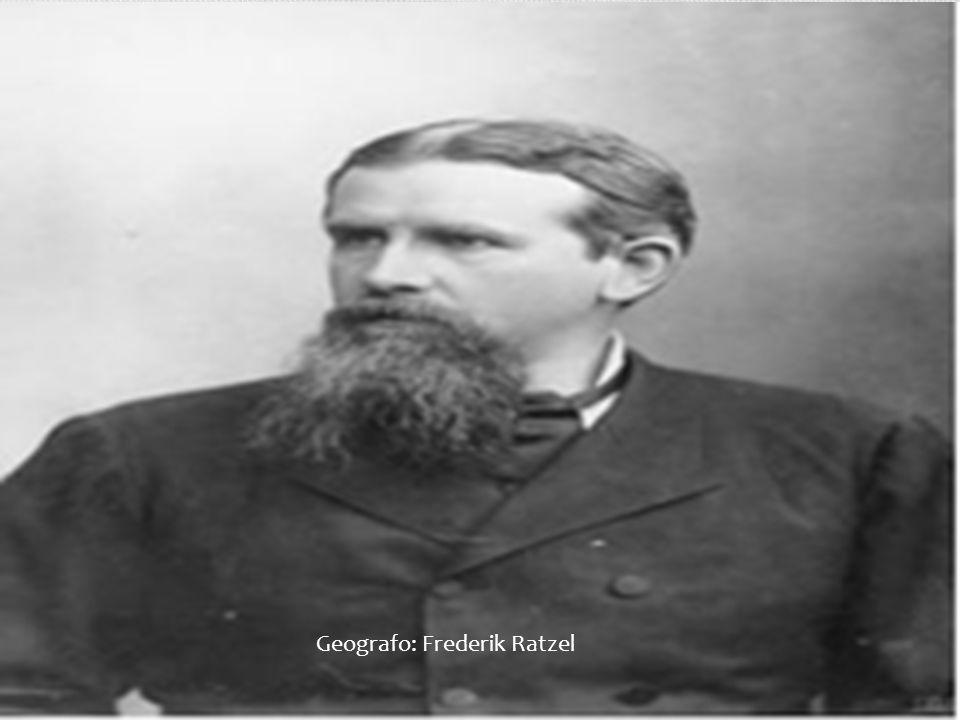 Geografo: Frederik Ratzel