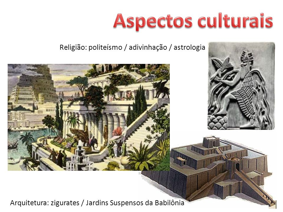 astrologia Arquitetura zigurates  Jardins Suspensos da Babilônia
