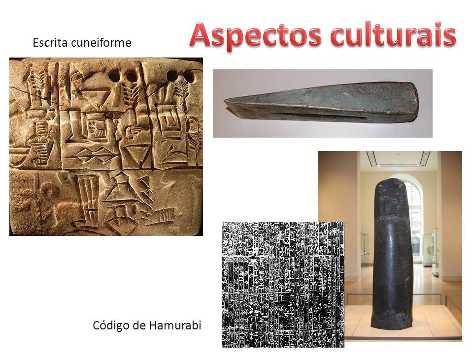 Escrita cuneiforme Código de Hamurabi