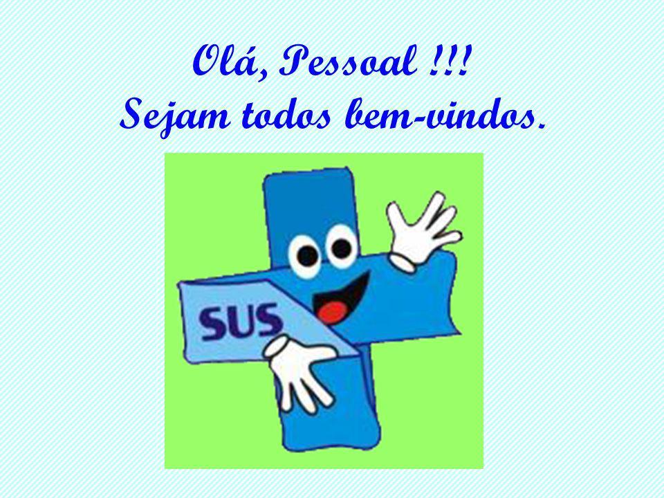 Olá, Pessoal !!! Sejam todos bem-vindos.