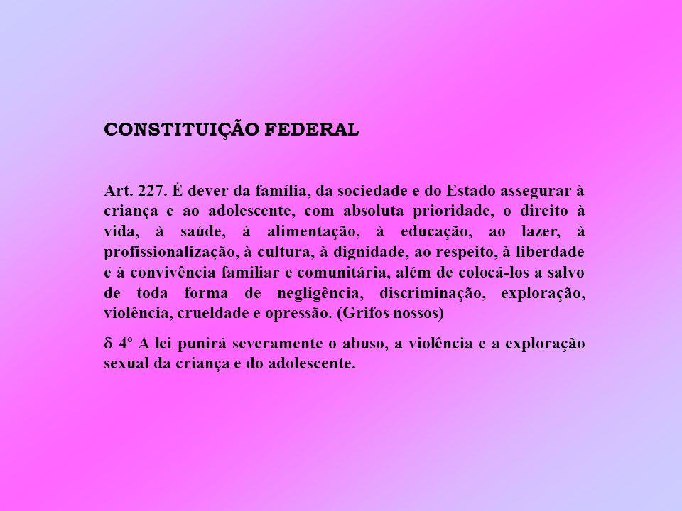 CONSTITUIÇÃO FEDERAL Art.227.