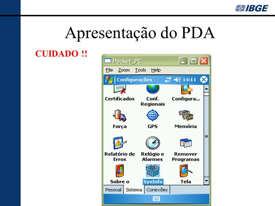 Apresentação do PDA CUIDADO !!