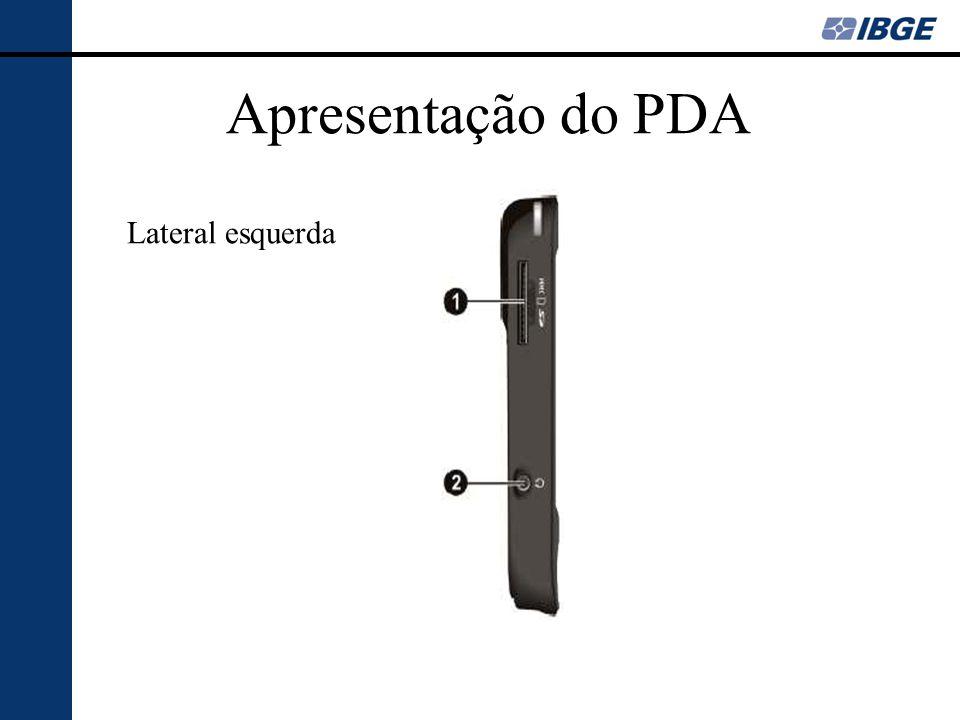 Apresentação do PDA Inferior