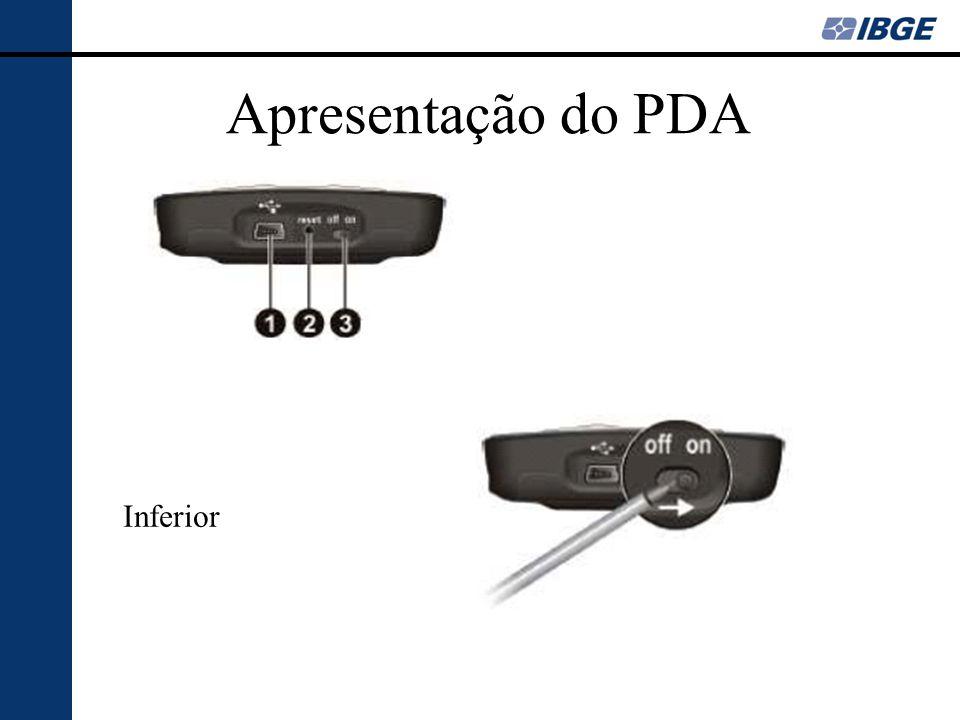 Apresentação do PDA Bluetooth