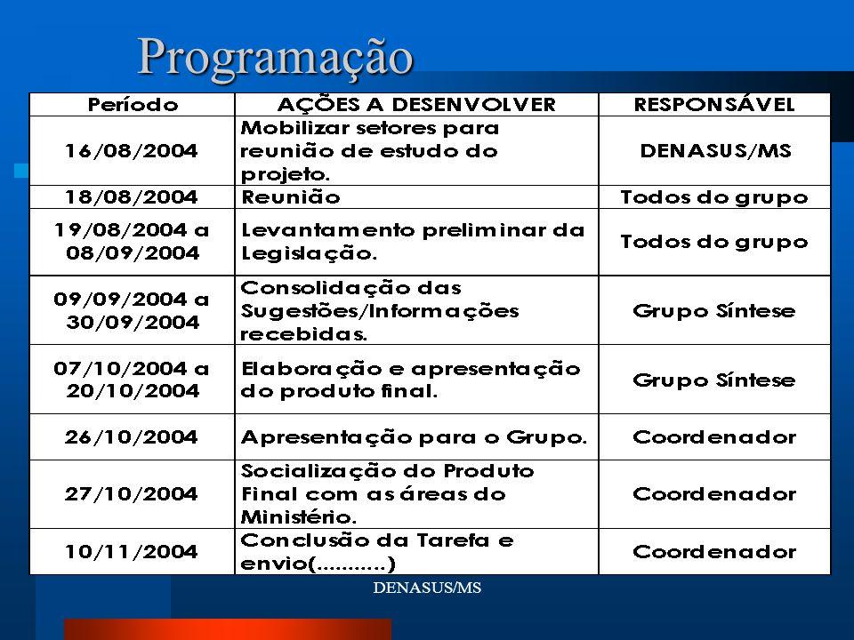 DENASUS/MSProgramação